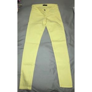 Flying Monkey Yellow Skinny Jeans Size 5